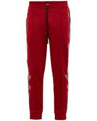 Amiri Souvenir Dragon-embroidered Track Pants