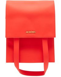Jacquemus Murano Leather Belt Bag - Red