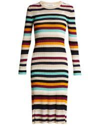 Altuzarra Stills Striped Knit Dress - Multicolour