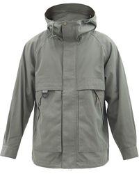 Snow Peak タキビ リップストップパーカージャケット - グレー