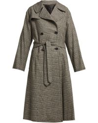 Nili Lotan - Topher Belted Trench Coat - Lyst