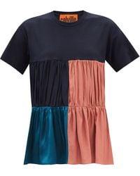 Colville パッチワークtシャツ - ブルー