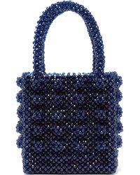 Shrimps - Antonia Sapphire Crystal Embellished Bag - Lyst 29d15d6314e0f