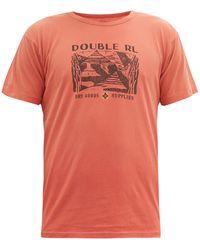RRL コットン Tシャツ - マルチカラー