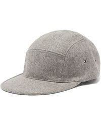 Saint Laurent Felted Lapin Hat With Feather in Black for Men - Lyst 3cab3928fd3a