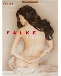 Falke - Shelina Transparent 12 Denier Tights - Lyst