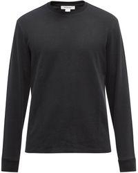 FRAME ロングスリーブ コットンtシャツ - ブラック
