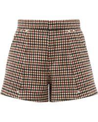 Chloé Wool Shorts - Multicolour