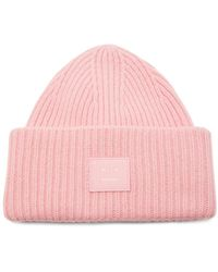 One Size, Pinstripe Pink Cable Knit Reebok Women/'s Beanie Hat