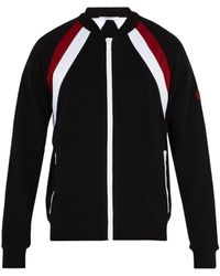 Givenchy - Double Stripe Cotton Track Top - Lyst