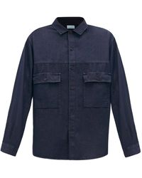 Raey - Chemise en chambray de coton à poche poitrine - Lyst