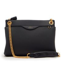Anya Hindmarch - Double-zip Leather Shoulder Bag - Lyst