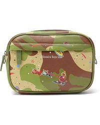 BBCICECREAM Space Camo Leather Belt Bag - Multicolour