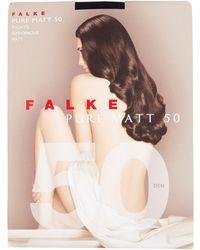 Falke - Pure Matte 50 Denier Tights - Lyst