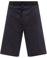 Paul Smith Artist-stripe Cotton-jersey Pyjama Shorts - Blue