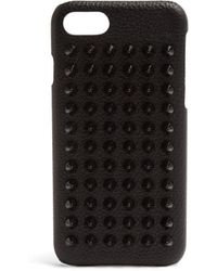 Christian Louboutin | Loubiphone Leather Iphone® 7 Case | Lyst