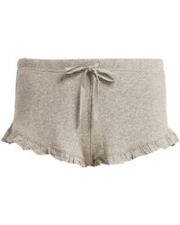 Skin - Rafaella Cotton Shorts - Lyst