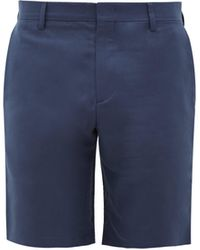 Paul Smith - Tailored Cotton-blend Twill Shorts - Lyst