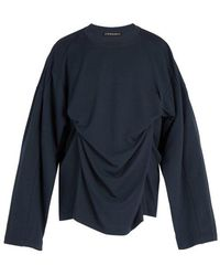 Y. Project - Double-layer Modal And Cotton-blend Top - Lyst