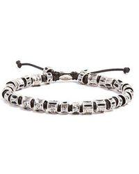 M. Cohen - Sterling-silver Bone Bracelet - Lyst
