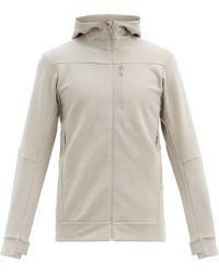 Norrøna Falketind Warmwool2 Jersey Hooded Sweatshirt - Gray