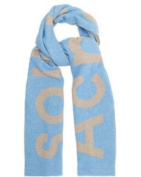 Acne Studios - Toronto Large Bi-colour Wool Scarf - Lyst