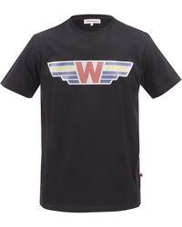 Walter Van Beirendonck T-shirt en jersey de coton à imprimé Future Proof - Noir