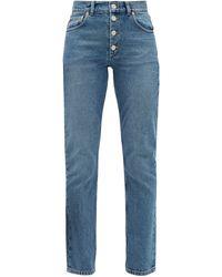 Balenciaga High-rise Denim Jeans - Blue