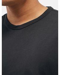 Our Legacy ニュー ボックス コットンtシャツ - ブラック