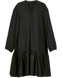 Rochas - タイバック ギャザークレープドレス - Lyst