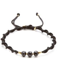 Black Dakini - Bead-embellished Cord Bracelet - Lyst
