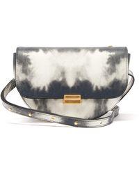 Wandler Anna Small Tie-dye Leather Belt Bag - Gray