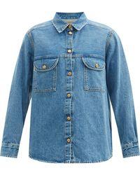 Blazé Milano Nariida Maya Denim Shirt - Blue