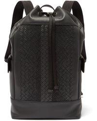 Bottega Veneta - Intrecciato Leather Backpack - Lyst