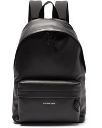 Balenciaga - Explorer Leather Backpack - Lyst
