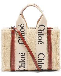 Chloé Chloé ウッディ スモール シアリングバッグ - マルチカラー