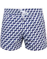 Frescobol Carioca   Sports Leme-print Swim Shorts   Lyst