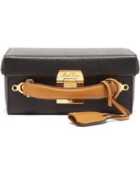 Mark Cross - Grace Small Leather Cross Body Bag - Lyst