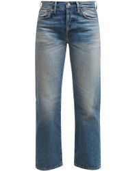 Acne Studios 1997 Straight Leg Jeans - Blue
