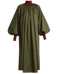 ROKSANDA - Cressida Bishop-sleeve Cotton Dress - Lyst