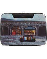 Paul Smith Serviette en toile à imprimé Mini - Multicolore