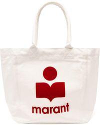 Isabel Marant イェンキィ コットンキャンバストートバッグ - マルチカラー