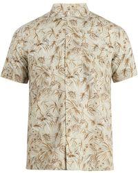 Glanshirt - Jake Floral Print Cotton Shirt - Lyst