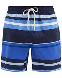Polo Ralph Lauren トラベラー ボーダー スイムショーツ - ブルー