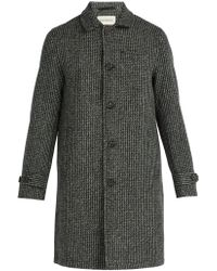 Oliver Spencer - Beaumont Wool Coat - Lyst