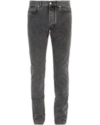 Givenchy - Slim Fit Washed Jeans - Lyst
