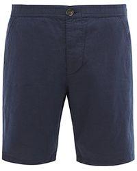 Oliver Spencer ドローストリング ショートパンツ - ブルー