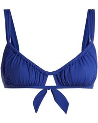 Three Graces London - Bridget Bikini Top - Lyst