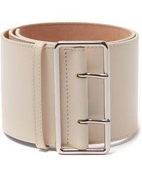 Alexander McQueen - Wide Leather Belt - Lyst