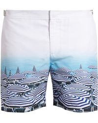 Orlebar Brown | Bulldog Photographic Swim Shorts | Lyst
